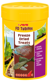 Sera FD Tubifex Freeze Dried Treats 12g