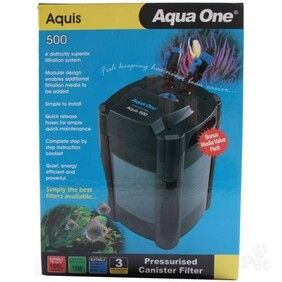 Aqua One CF500 Aquis Canister Filter 500L/hr