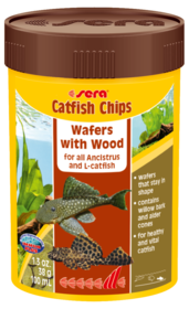 Sera Catfish Chips Wafers with Wood 38g