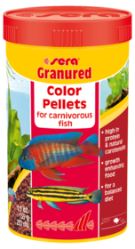 Sera Granured Color Pellets for Carnivorous Fish 565g