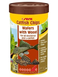 Sera Catfish Chips Wafers with Wood 95g
