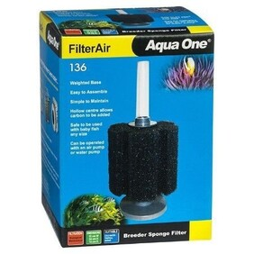 Aqua One Filter Air 136 Air Filter 12 x 24 x 12 cm
